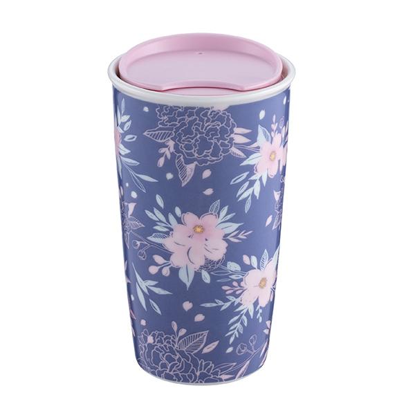 香港限定SAKURA(桜)シリーズのタンブラー「Cherry Blossom at Night Double Wall Mug」